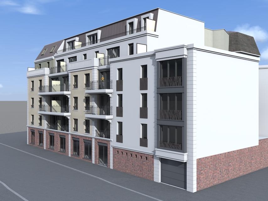 côté Victor Hugo, programme immobilier neuf à Neuilly Plaisance