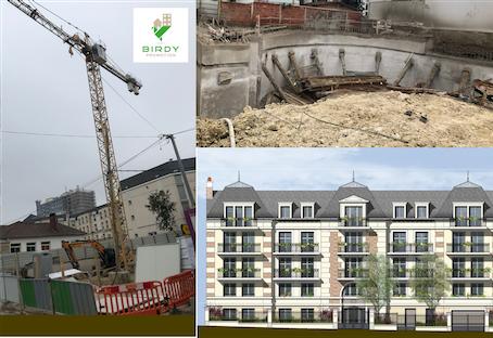 Birdy Promotion, projet de logements neufs en cours, programme locatif à Gagny