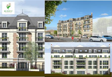 Immeuble de logements neufs à Gagny, Birdy Promotion